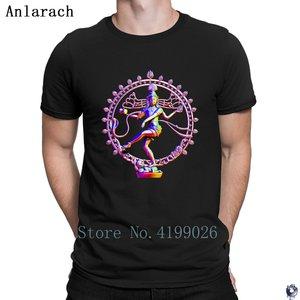 Shiva Nataraja rainbow t-shirt
