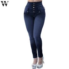 jujuland S-5XL women ladies Plus size mickey boyfriend denim ripped vintage Mid waist