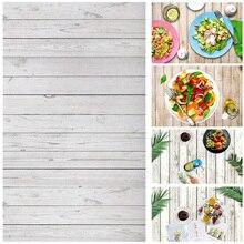 Alloyبالدخول 0.6x0.9 متر التصوير خلفية سبورة خشبية الخلفيات القماش مكتب الجدول صور استوديو الهاتف التصوير الدعائم للأغذية