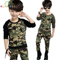 Children Clothing Sets For Boys Cotton Camouflage Sports Suits Spring Kids Tracksuits 2017 Teenage Boys Sportswear Clothes H003