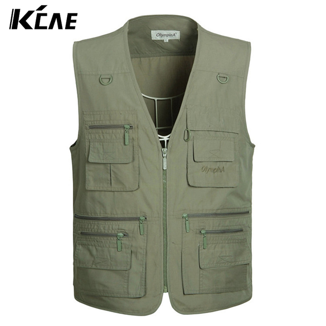 2016 New Summer Outdoors Travels Vests Mesh Vest XL-5XL Photographer Vest Shooting Vest with Many Pocket Wholesale