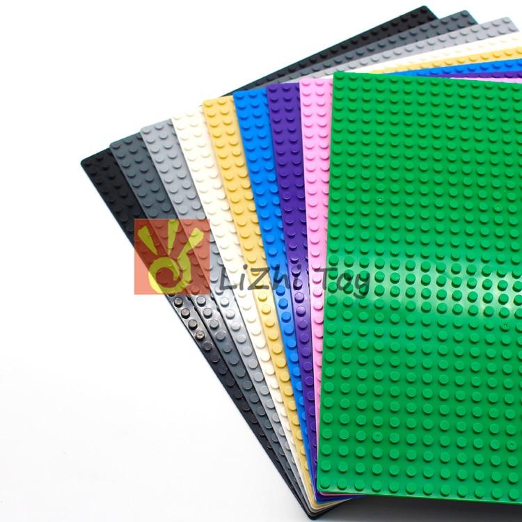 Lizhi MOC Bricks 3811 Baseplate 32x32  For Small Bricks Baseplate Board DIY Building Blocks Toys Compatible With LegoINGLYS