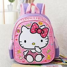 Bebé Mochila Bolsa de La Escuela Infantil de Dibujos Animados Hello Kitty/Transformers Mochila Kindergarten Mochila Para Niños Mochila Infantil