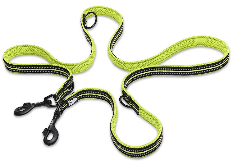 Truelove 7 In 1 Multi-Function Adjustable Dog Lead Hand Free Pet Training Leash Reflective Multi-Purpose Dog Leash Walk 2 Dogs (17)