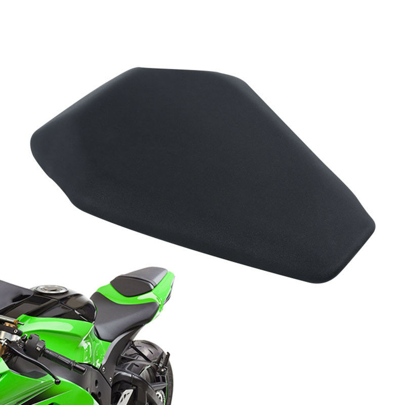 Motorcycle Motorbike New Black Rear Passenger Pillion Seat For Kawasaki Ninja ZX10R ZX-10R 10 R 2016-2019 2018 2017