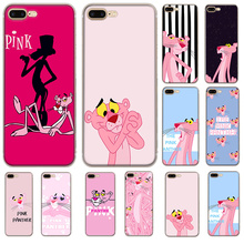 Phone Case Pink Panther for iPhone 6 6s 7 8 Plus 11 Pro X XR XS Max 5 5s Se Cover Protection