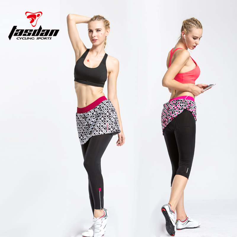 Tasdan Tight Women Cycling Shorts