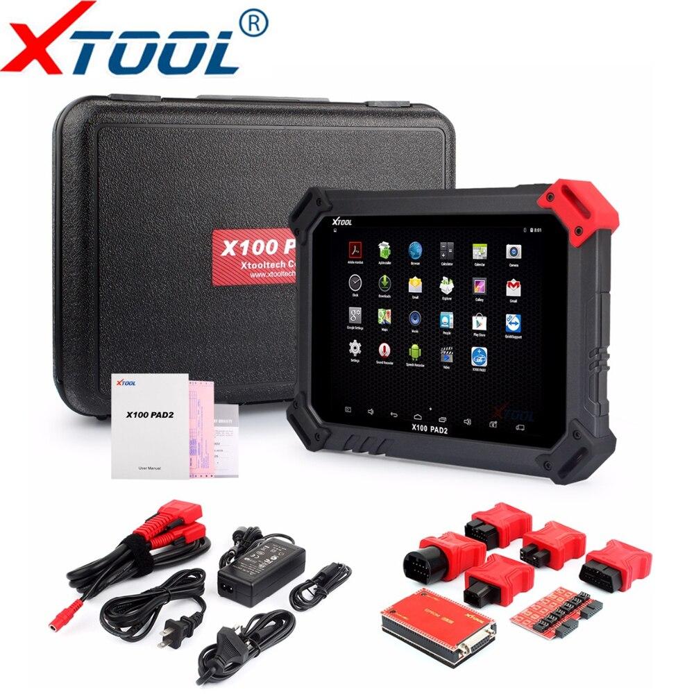 100% Originale XTOOL X100 PAD2 Funzioni Speciali della Versione di Aggiornamento di X100 PAD meglio di X300 Pro 3 Auto Chiave Programmatore x100 PAD 2