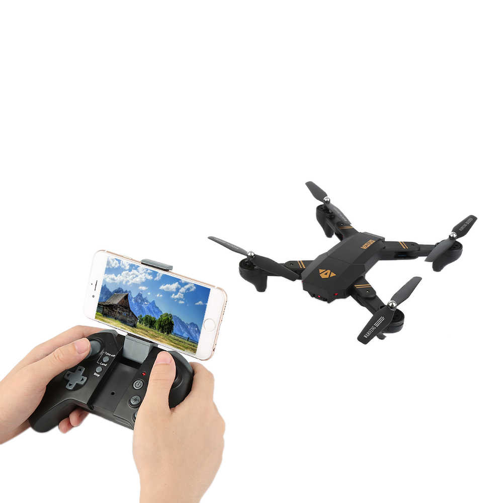VISUO XS809HW XS809W Wifi FPV 2MP 720P HD Camera Foldable Selfie Drone Altitude Hold RC Quadcopter Drones RC Helicopter VS E58 foldable rc quadcopter lh x24 wifi fpv 480p 720p wide angle camera 2 4g selfie drone with led light altitude hold vs xs809w x8w