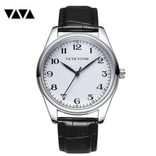 New Men Watches Wholesale Leather Band Waterproof Sport Wrist Watch for Male Fashion Quartz Clock Dropshipping relogio masculino sunward relogio masculino men watches stylish wholesale retro design leather band analog alloy quartz wrist watch mar10