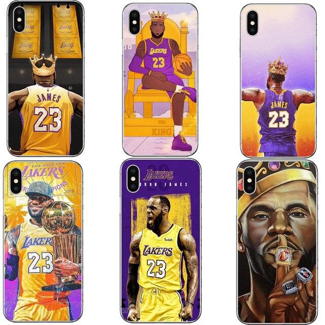 53cf46589d79 LeBron James Los Angeles Lakers Phone Case iPhone 5 5s SE 6 6SPlus 7 7Plus  8 ...