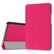 DOLMOBILE Flip PU Leather Cover Case for Huawei MediaPad M3 8.4 inch BTV-W09 BTV-DL09 Tablet + Clear Screen Protector