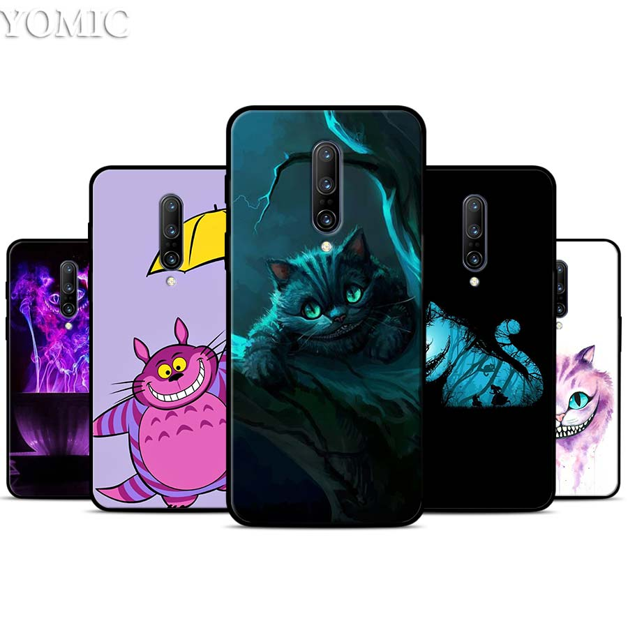 Cheshire Cat Totoro Silicone Case for font b Oneplus b font font b 7 b font