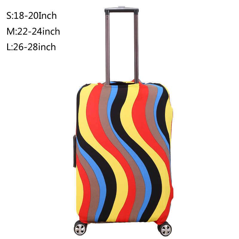 Модные дорожного чемодана Защитная крышка для 18-28 дюймов, чемодан с выдвижной ручкой аксессуары чехол, Пылезащитный чехол, Аксессуары для путешествия, Z86
