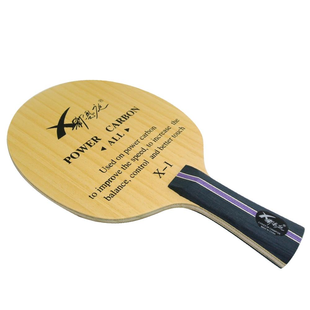 XI EN TING Professional POWER Carbon Table Tennis Blade ...