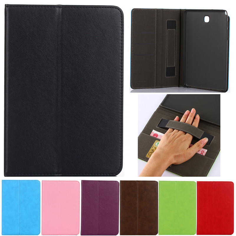 Luxury Tablet case Cover For Samsung Galaxy tab A 8.0 T350 T355 SM-T355 PU Leather Flip Case Wallet Card Stand cover With Holder pu leather tablet case cover for samsung galaxy tab 4 10 1 sm t531 t530 t531 t535 luxury stand case protective shell 10 1 inch