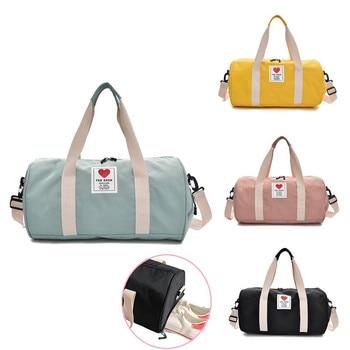 Women's Gym Male Bag Top Female Sports Shoe Bag for Women Gym Fitness Over the Shoulder Yoga Sport Bag Travel Handbags 1