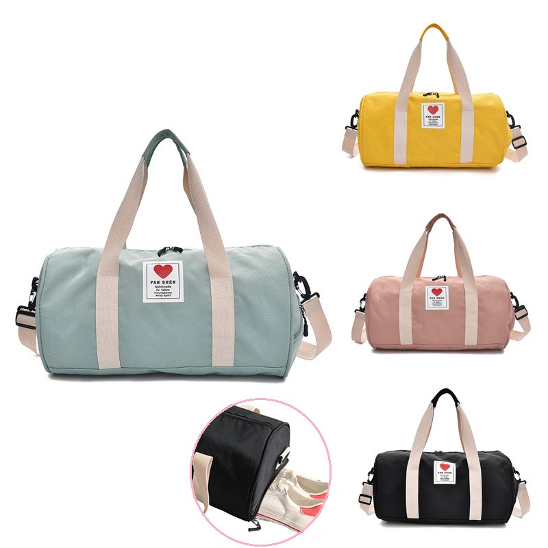 Women's Gym Male Bag Top Female Sports Shoe Bag For Women Gym Fitness Over The Shoulder Yoga Sport Bag Travel Handbags