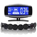 8/NY5050 sensores Car Kit Display LCD Sensor de Aparcamiento para todos los coches aparcamiento detector de ayuda al aparcamiento sensor de aparcamiento