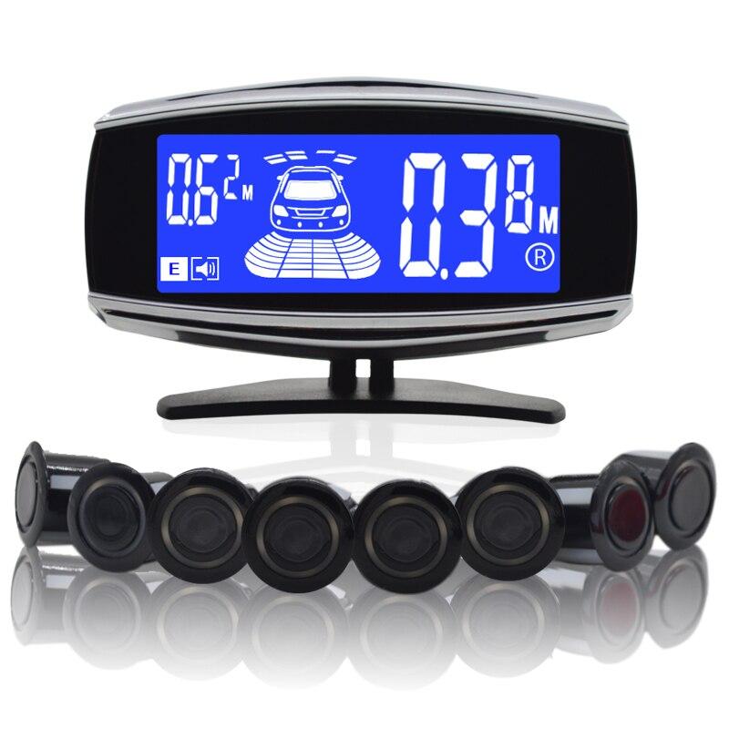 8/capteurs NY5050 voiture LCD Kit de capteur de stationnement affichage pour toutes les voitures Parking voiture détecteur aide au stationnement capteur de stationnement - 2
