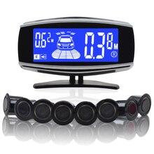 8/sensors NY5050 Car LCD Parking Sensor Kit Display for all cars parking car detector parking assistance parking sensor