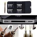25 in 1 Repair opening Tool Kit Aid Pentalobe Torx Phillips Screwdrivers Set for  iPhone PC Camera Watch Free Shipping