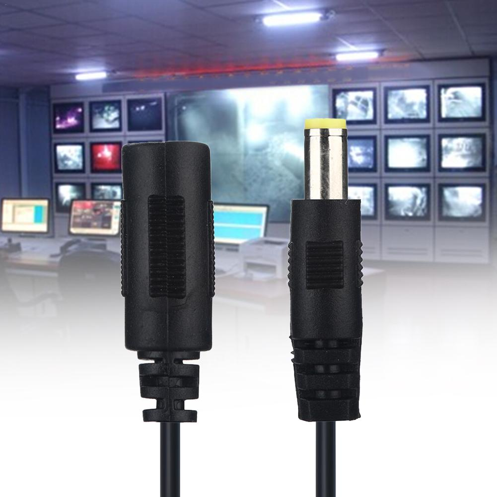 5V 12V 24V DC Power Cord 5 5 2 1mm Male Female Power Adapter Extension Cable 1 8m CCTV Camera Extend Wire For Home Appliance in Computer Cables Connectors from Computer Office