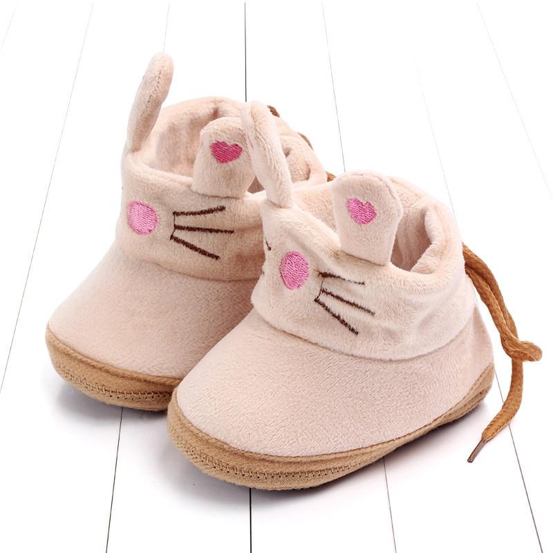 Indoor First Walkers Baby Shoes Cotton Anti-slip Booties Winter Wammer Baby Girl Boy Shoes Newborn Slippers Footwear Booties (32)