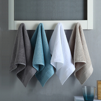 4 PIECES/set  Face Towel Cotton  Pakistan  Cotton Luxury Hand Towel Super  Absorbent 50x30cm 85g Hotel Gift  Sport Travel กระเป๋า ผู้ชาย