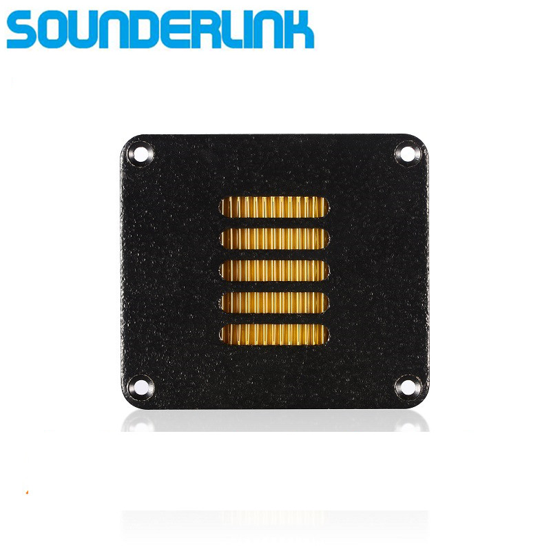 one PC Air motion tweeter ribbon tweeter AMT for DIY HiFI audio and Car speaker hifine hi 520d 28mm tweeter component speaker for car audio system black pair