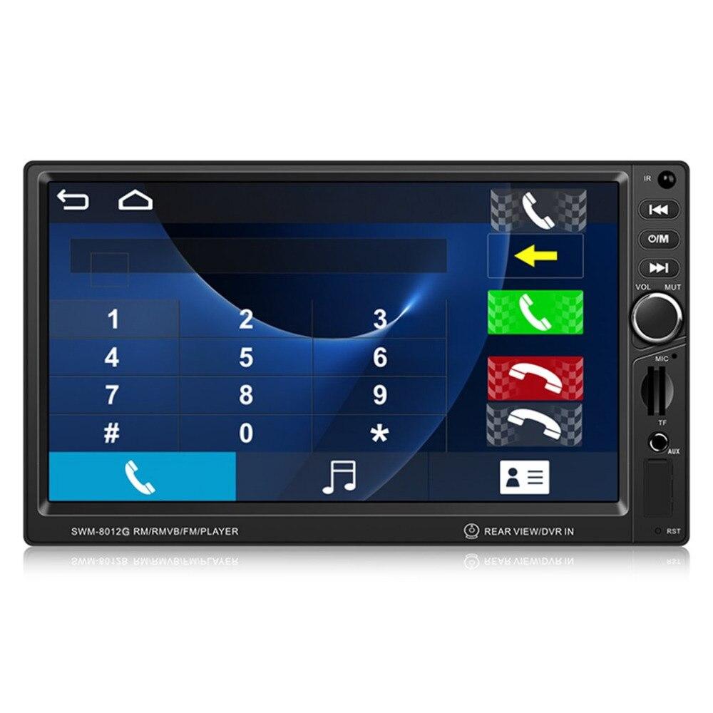 CASKA 8012G 7 2 Din Car Audio MP5 Player Multimedia Support Bluetooth And GPS Navigation USB/SD/FM Aux Input