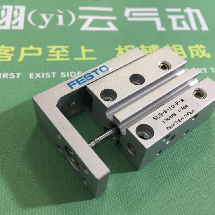 SLS-6-25-P-A SLS-6-30-P-A SLS-6-40-P-A SLS-6-50-P-A FESTO Slide cylinder Pneumatic components Slipway cylinder цены