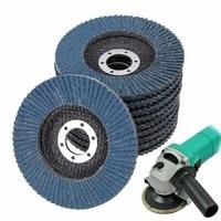 10pcs Lot Durable Flap Disc Sanding Grinding 4 1 2 7 8 60 Grit Mayitr Hard