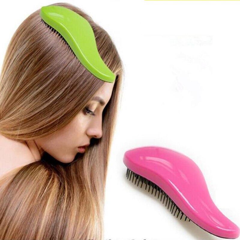 Magic Handle Tangle Detangling Comb Shower Hair Brush Detangler Salon Styling Tamer Exquite Cute Useful Tool Hot Hairbrush