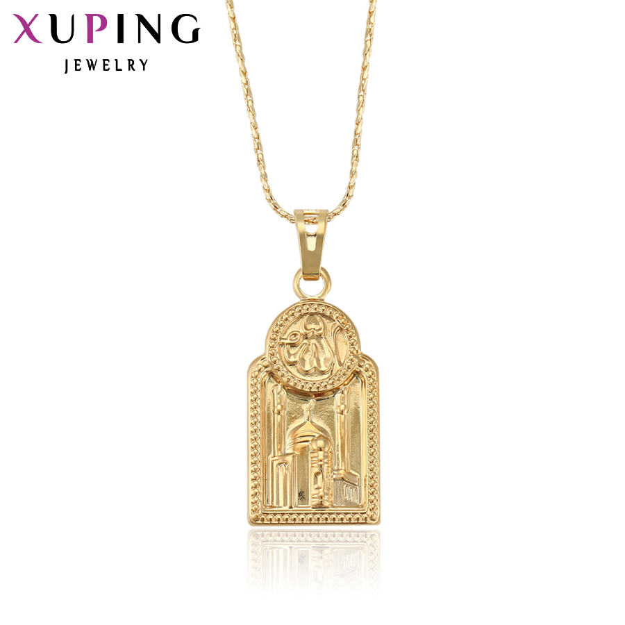 11.11 Xuping Fashion Pendant Beautiful Religion Pendants for Men or Women Gold Color Jewelry Christmas High Quality Gift 32140