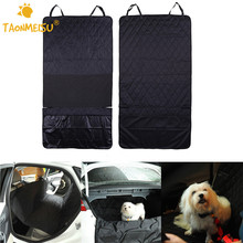 Pet Dog Safety Mats Waterproof Vehicle SUV Trucks Car Rear Bench Seat Cover Mat For Puppy Kitten Car Travel Goods for Dogs Cats