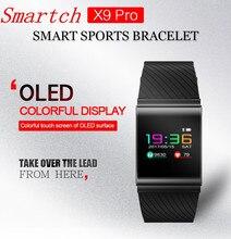 Smartch X9 Pro Smart Браслет IP67 Профессиональный Presión arterial сна Мониторы Спорт Одежда заплыва G-Сенсор PK X2 Смарт-часы