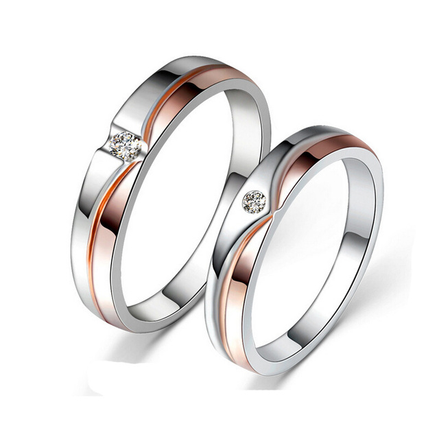 Jansun Silver Rings For Lovers 100% Guaranteed Real 925 Sterling Silver Jewelry  Ring YH4627
