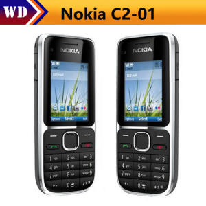 C2-01 Unlocked Nokia C2-01 1020 mAh 3.15MP 3G Support Russian Keyboard & Aracbic
