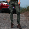 Army Cargo Pants Men Sweatpants Kargo Pantolon Fashion 2017 Autumn winter new slim military Army Green trousers Cotton