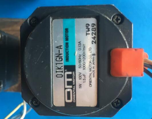 AC reduce   motor OIK1GN-A  ,  Used  one , 90% appearance new , 3 months warranty , fastly shipping