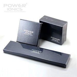 Image 2 - Energia ionics titânio energia cura pulseira magnética corpo com caixa