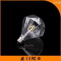 50PCS 3W D120 Vintage B22 E27 Led Bulb ,Retro Edison Light Bulb For Living Room Bedroom Coffee Bars AC 220 240V