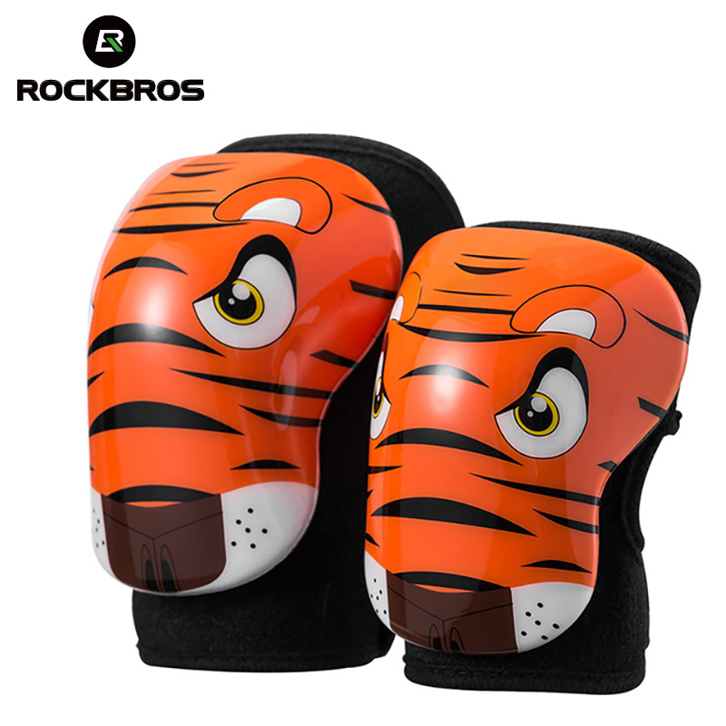 ROCKBROS Bicycle Children Arm Leg Protect Elbow Pads Knee Breathable Kids Sport Safety Cycling Skiing for Child