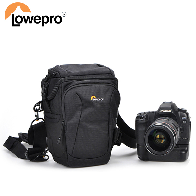 Lowepro Toploader Pro 70 AW II Digital SLR Camera Triangle Shoulder Bag Rain Cover Portable Waist Case Holster For Canon Nikon сумка lowepro toploader zoom 55 aw ii black 82340