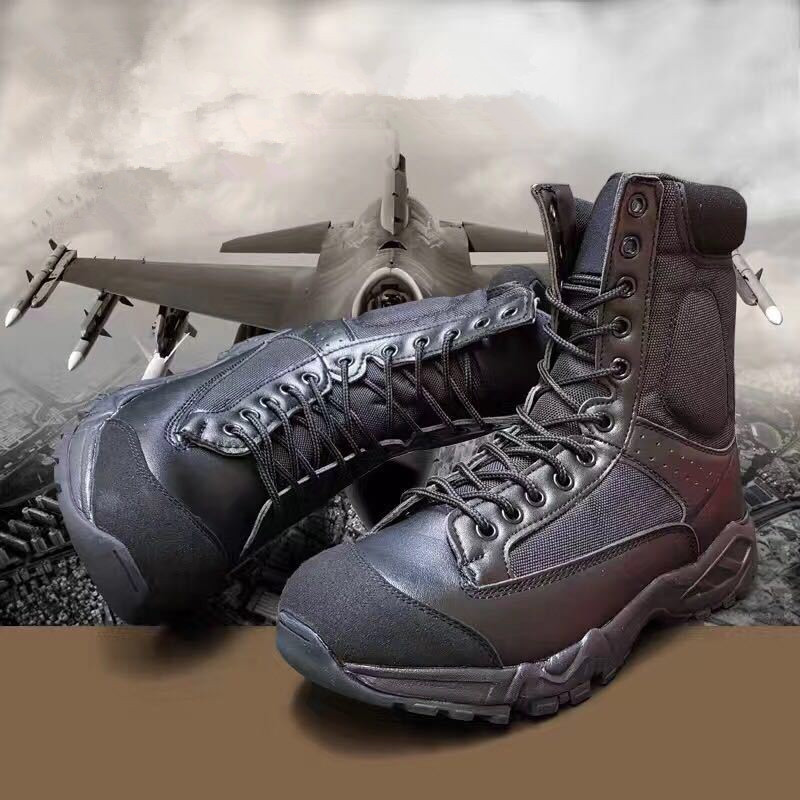 Trekking Shoe Tactical-Boots Airborne Climbing Outdoor Ultralight Mesh Bota Desert Breathable