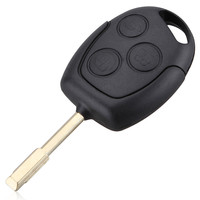 New 3 Buttons Car Key 315 433MHZ Remote Entry Key Fob For Ford Mondeo Fiesta Focus