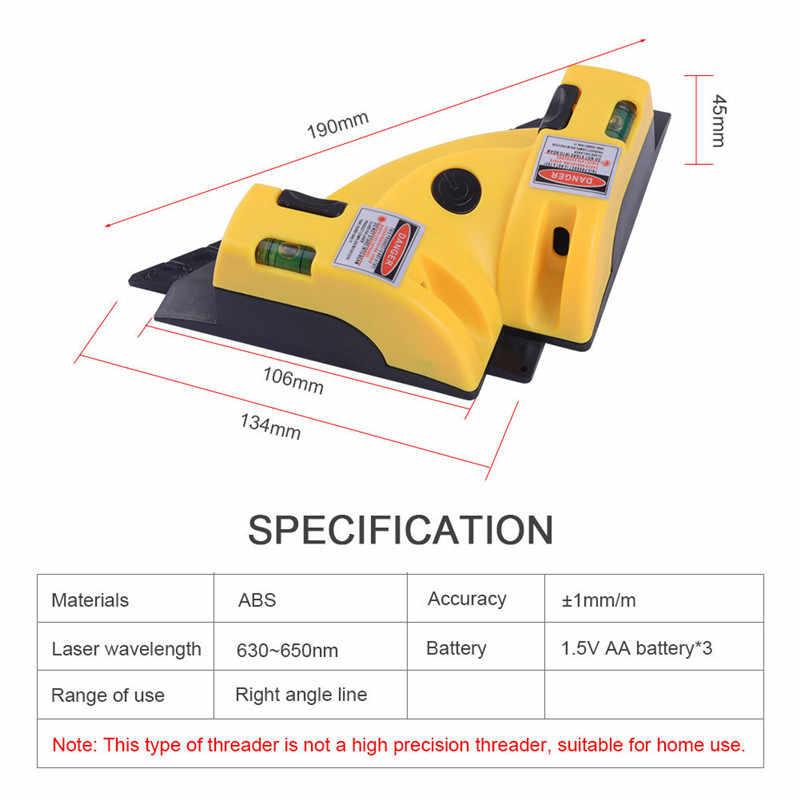 Hot Selling Haakse 90 Graden Vierkante Laser Level Hoge Kwaliteit Niveau Tool Laser Meting Level Laser