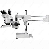 Тринокулярный Стерео бум микроскоп-AmScope поставки 7X-90X Тринокулярный Стерео Boom Увеличить микроскоп + дневной свет
