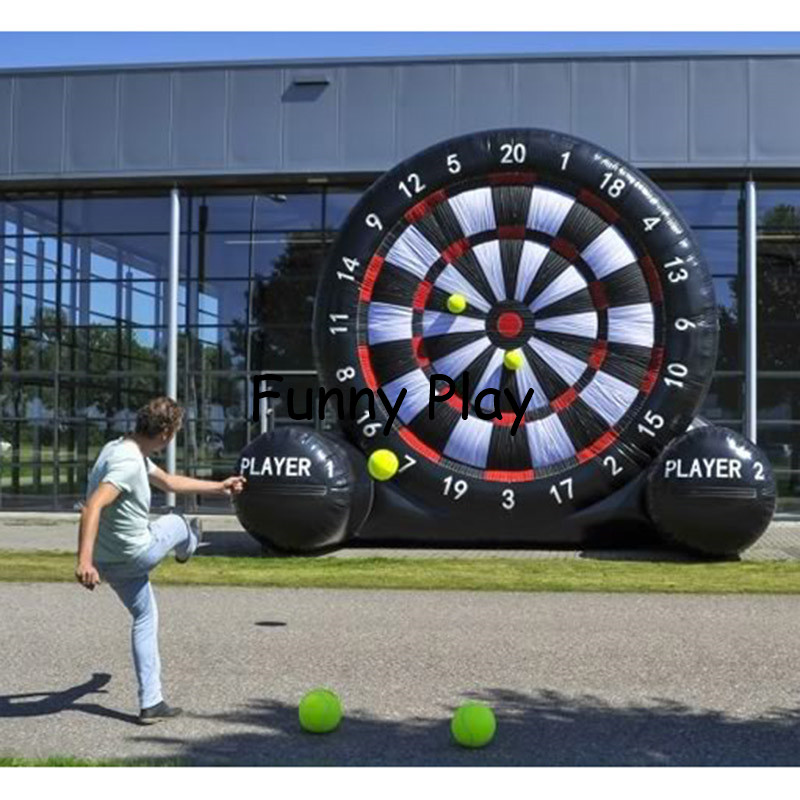 giant pvc Inflatable Foot Darts Board Game,Inflatable Kick Darts,inflatable football target dart board soccer goal customized 3x1x2 5 meters inflatable dart game high quality inflatable dart board for adult and kids toys